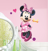Mickey & Friends - Minnie Bow-tique Giant Wall Stickers