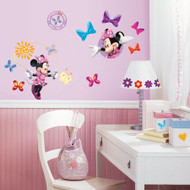 Mickey & Friends - Minnie Mouse Bow-tique Wall Stickers