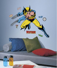 Marvel Classic Wolverine Giant Wall Stickers