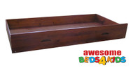 Under Bed / Bunk Trundle Storage Drawer is the perfect solution for kid's sleepovers, spare bed for guests or to simply store kids toys or blankets.