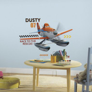 Decorating is an adventure with these Planes Fire & Rescue Dusty peel and stick giant wall decals.