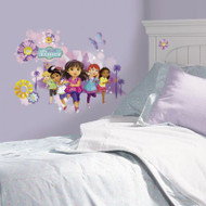 Let Dora and her friends greet your child the moment they wake with this Dora and Friends Peel and Stick Wall Graphix.