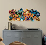 Unite with the Skylanders to defeat KAOS with a huge wall graphic!