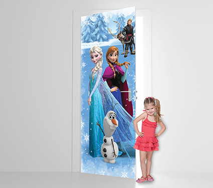 Frozen There's Magic In The Air Door or Wall Mural