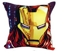 Iron Man Face Cushion Cover