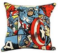 Retro Captain America Cushion Cover
