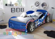 No 22 Blue Turbo Car Bed