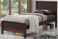Quincy Bed Frame Chocolate - Single & King Single