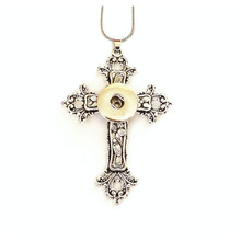 OLD WORLD CROSS NECKLACE
