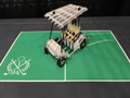 Golf Cart Handmade 3D Kirigami Card