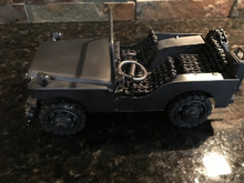 Jeep Handcrafted Found Art