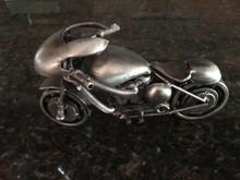 Sport Bike Handcrafted Found Art