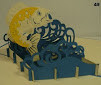 Handmade 3D Kirigami Card Fish
