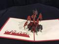 Handmade 3D Kirigami Card Graduation Style and colors may vary