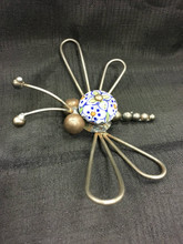 Cabinet Knob Dragon Fly Handcrafted Found Art