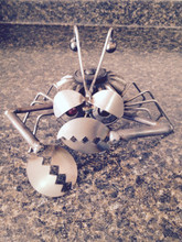 Handcrafted Found Art - Crabby Crab