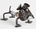 Handcrafted Found Art Bulldog Bark Plug