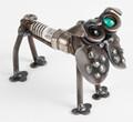 Handcrafted Found Art Pug Bark Plug