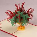 Flower Handmade 3D Kirigami Card