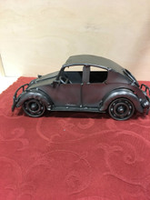 Handcrafted Found Art VW Bug