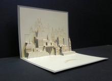 Hogwarts  Harry Potter  Handmade 3D Kirigami Card