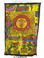 Indian Cotton Tapestry Sun (60 x 90)