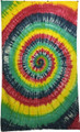 Indian Cotton Tapestry Spiral