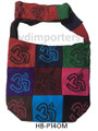 Cotton Hand Bag/ Shopping Bag Printed Patchwork Om