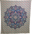 Indian Cotton Tapestry Lotus (210 x 240 cm)
