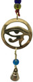 Brass Wind Chime String with Horus Eye
