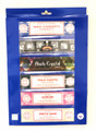 Satya Set of 6  Nag champa Superhit Black Crystal Palo Santo Aaruda White sage