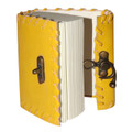 """Paper Journal Small 240 pages 4""""x3"""" Yellow"""