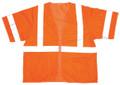 V3000: Cor-Brite Class III Orange Mesh Safety Vest