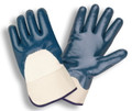 6850: Jersey Lined/Smooth/Knit Wrist Nitrile Gloves - 12 Pack