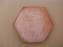 Hexagon Terracotta Traditional Handmade 20cm Price Per M2
