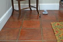 Bourdeaux Handmade Terracotta  Laid and sealed with Boiled Linseed Oil and Ironwax satin