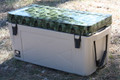 X450 Brute Heavy Duty 50 Quart Cooler with Camobooty Print Lid