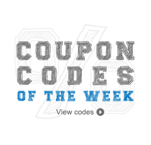 Coupon Codes of The Week