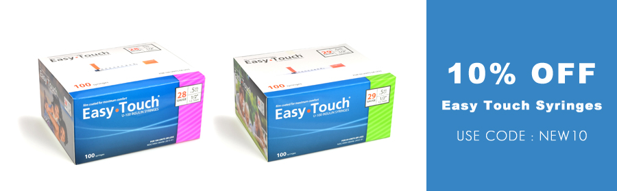 Easy Touch Insulin Syringes