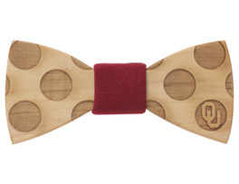 University of Oklahoma Bowtie Maple