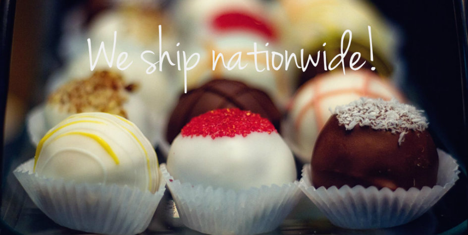 We ship our Cake Balls!