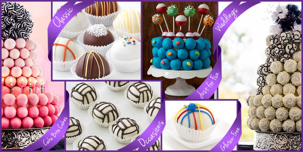 custom cake balls and cakes