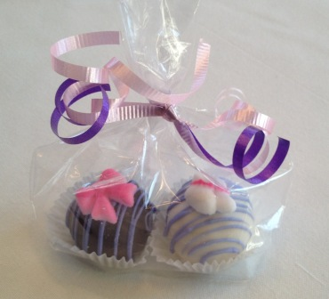 Cake Balls Baby shower favors