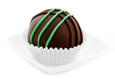 Chocolate Mint Cake Balls