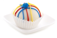 Gluten Free M&M cake ball