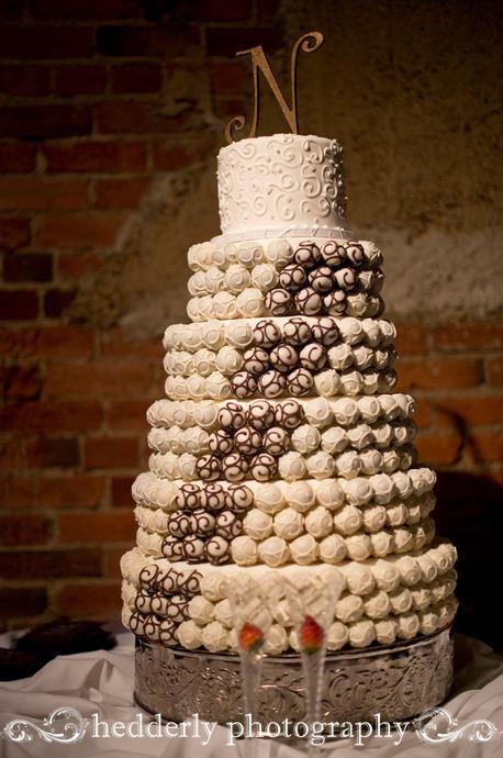 Wonderful ... Mocha Wedding Cake ...