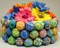 "Colorful Fiesta Cake Bites ""cake"""