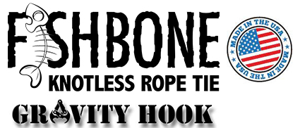 Fish Bone Knotless Rope Tie