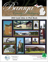 Baraga County Michigan 2012 Plat Book