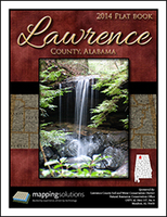Lawrence County Alabama 2014 Plat book